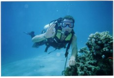 Scuba diving in red sea Sharm El Sheikh - Intro dive from shore (1 dive)